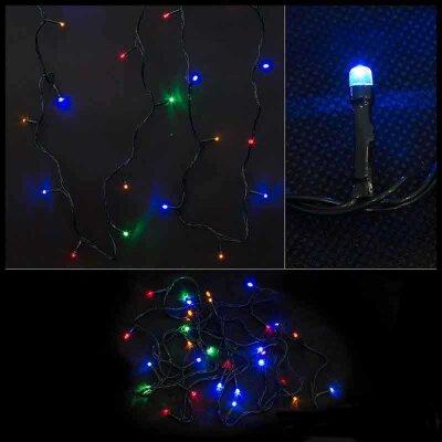 Гирлянда многоцветная постоянного свечения LED30-3-MC PROMO 30 светодиодных ламп,  3 метра