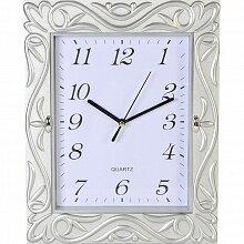 Часы прямоугольные настенные 23.8x30.6 см MAX-8569 Орнамент кварцевые с плавным ходом
