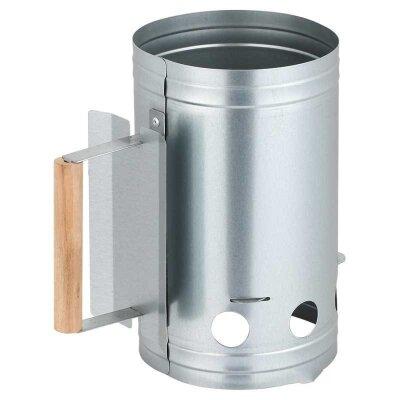 Труба стартер для розжига угля CB-09, 17х27 см, оцинкованная сталь