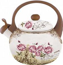 Чайник эмалированный GRACE 2.5 л GR-JH-2202 со свистком