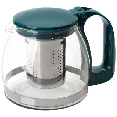 Mallony Decotto-AS-750 Чайник заварочный стеклянный 750 мл с фильтром из нержавейки