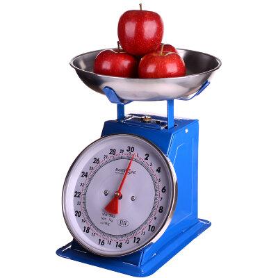 Весы настольные с чашей механические до 30 кг MAXTRONIC MAX-1806 цена деления 100 грамм