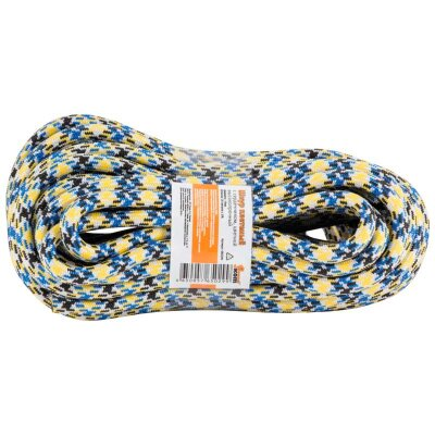 Шнур плетеный 20 метров диаметр 10 мм с сердечником Рыжий КОТ высокопрочный цветной
