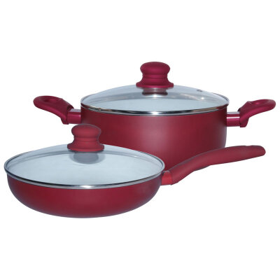 Набор посуды 4 предмета из алюминия с керамическим покрытием ASET-1 Mallony