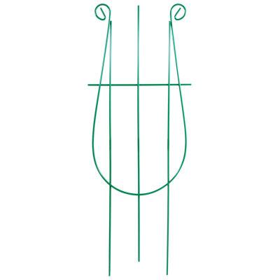 Шпалера опора для растений Арфа, 48*18 см