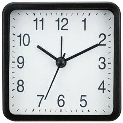 Часы будильник HOMESTAR HC-02 настольные на батарейках 8.3x3.9x4 см