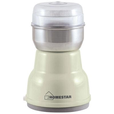Кофемолка 150 Вт HOMESTAR HS-2001 Белая на 50 г кофе
