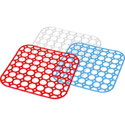 Решетка в раковину на кухне 26х26 см М1150 квадратная пластик