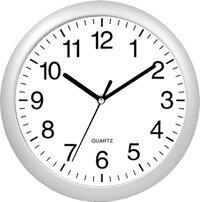 Часы круглые настенные 27.3 см Сияние MAX-8383C кварцевые интерьерные с большими цифрами и плавным ходом