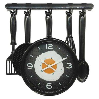 Часы настенные кварцевые HOMESTAR HС-07 плавный ход 33.1x34.5x4.3 см
