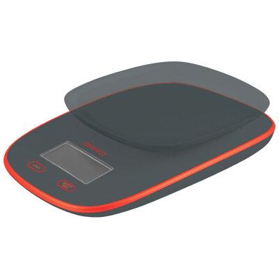 Весы кухонные электронные от 1 грамма до 3 кг Energy EN-422 Серые