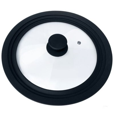 Крышка с силиконовым ободком для сковород 22-24-26 см CAPPELLO Mallony