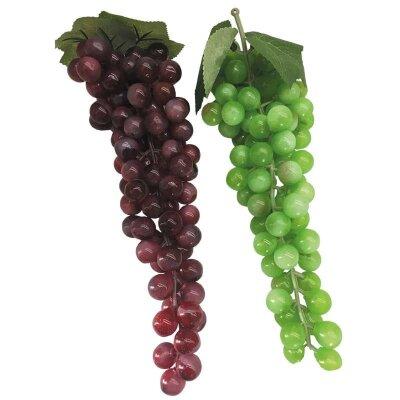 Искусственная гроздь винограда для декора