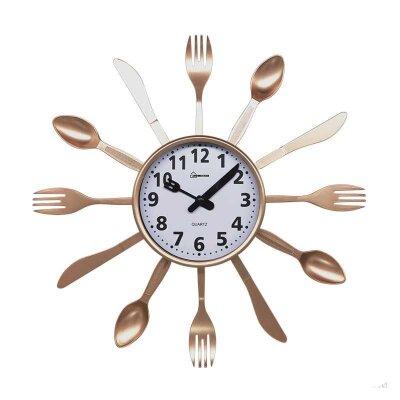 Часы настенные кварцевые HOMESTAR HС-14 ложки, вилки, ножи 35x3.8 см плавный ход