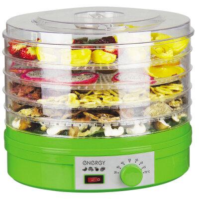 Сушилка электрическая для овощей и фруктов на 5 поддонов Energy EN-770 с регулировкой температуры