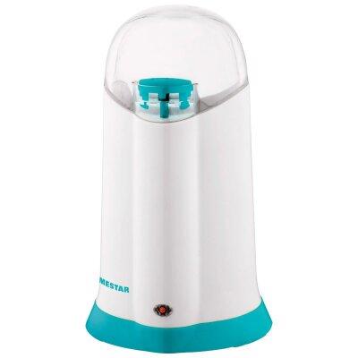 Электрокофемолка для кухни 150 Вт HomeStar HS-2008W Белая, ножи нержавеющая сталь