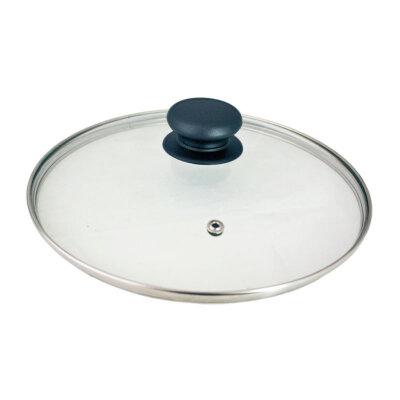 Крышка стеклянная 22 см Mallony паровыпуск