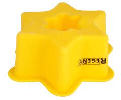 Форма для выпечки кекса «Звездочка» силиконовая Regent 93-SI-FO-86 , 9x9x4 см