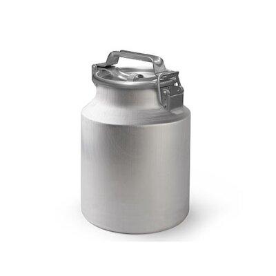 Бидон алюминиевый 10 литров МТ-002 с плотной крышкой