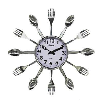 Часы настенные кварцевые HOMESTAR HС-15 ложки, вилки 35x3,8 см плавный ход