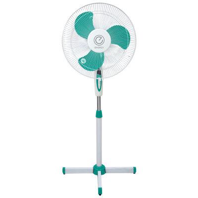 Вентилятор электрический напольный 40 см 40 Вт ENERGY EN-1659  Зеленый, 2 шт в коробке