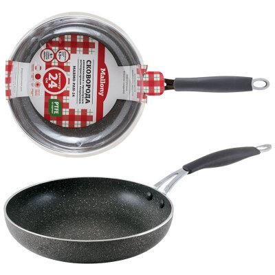 Сковорода Mallony MARMO-PAN-24 24 см с мраморным покрытием