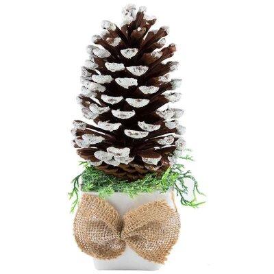 Новогоднее декоративное украшение Шишка SYCB17-223 19 см
