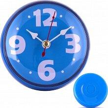 Часы круглые настенные 8.5 см MAX-9787-1 Фантазия-1 кварцевые пластиковые синие