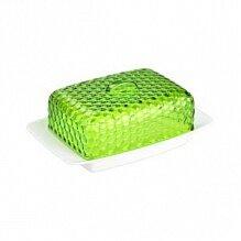 Масленка кухонная Мозаика М5571 Альтернатива цвет бело-зеленый  18.5x12x7.2 см
