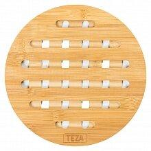 Подставка под горячее арт. 40-015 Teza круглая 19 см бамбук
