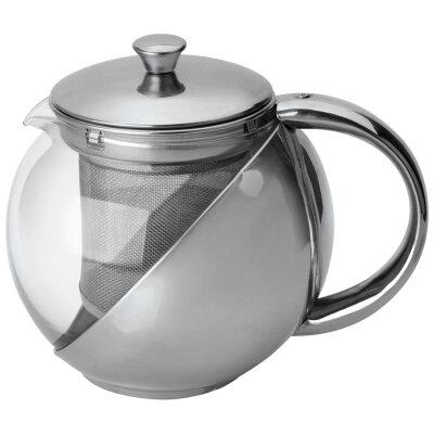Mallony Menta-500 Чайник для заварки чая на 0.5 л стеклянный фильтр из нержавейки