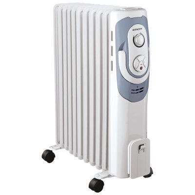 Обогреватель масляный электрический 11 секций 2.5 кВт ENGY EN-2111 energo регулируемый термостат