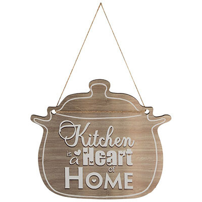 Табличка для интерьера The kitchen is the heart of the home ИТ-029