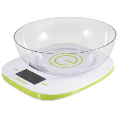 Весы настольные с чашей до 5 кг Energy EN-425 электронные для кухни