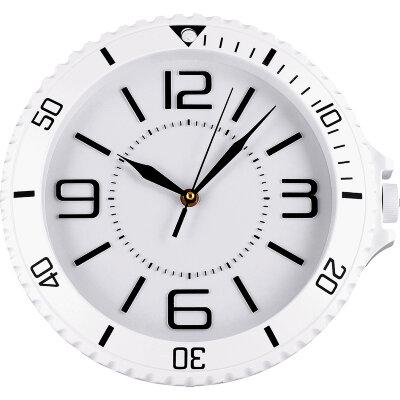 """Часы круглые настенные 30 см MAXTRONIC MAX-9811С5  """"Легенда"""" белые"""