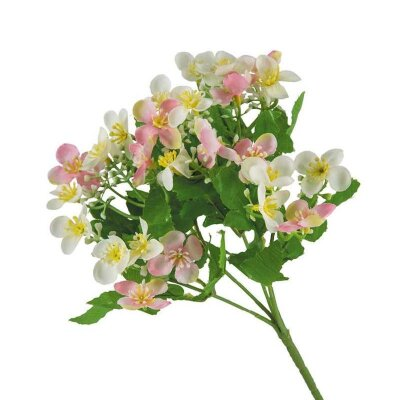 Искусственный цветок для декора Лютик ползучий 28.5 см