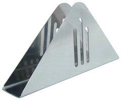 Regent 93-DE-ZU-07 Салфетница для бумажных салфеток, нержавеющая сталь, 8x3x8 см