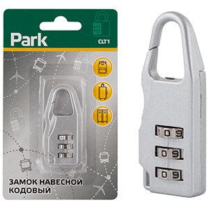 Замок навесной кодовый Park CLT-1, 3 цифры