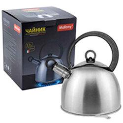 Чайник для плиты со свистком 2.2 л DJA-3026 Mallony капсульное дно