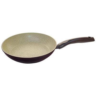 Сковорода Mallony MP-26 26х5.5 смс мраморным покрытием