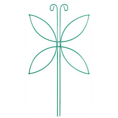 Шпалера опора для цветов Мотылек, 44*24 см
