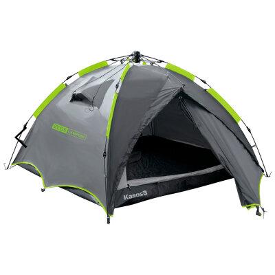 Палатка автоматическая 3-местная ECOS Kasos 3 (210+70)х210х130 см