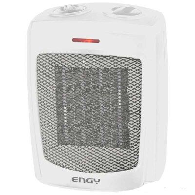 Тепловой вентилятор керамический 1500 Вт ENGY KRP-3 настольный, Белый