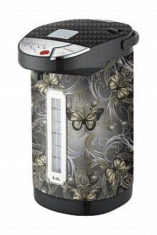 "Электрический термопот для дома 5.5 л MAXTRONIC MAX-Z55B4 ""Бабочки"" с 3 режимами подачи воды"