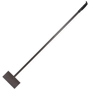 Скребок для льда с металлическим черенком 1.37 м пластиковая ручка
